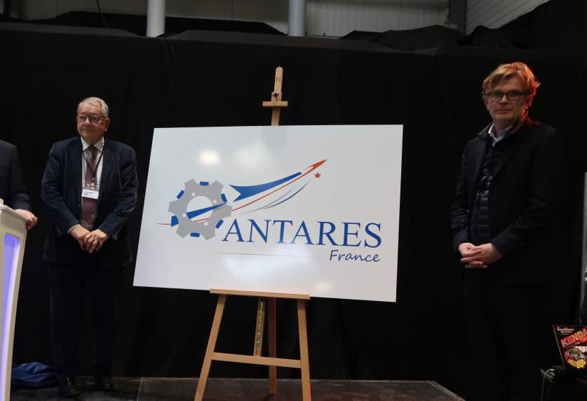 Antares France - Marc Fesneau en visite chez Antalia